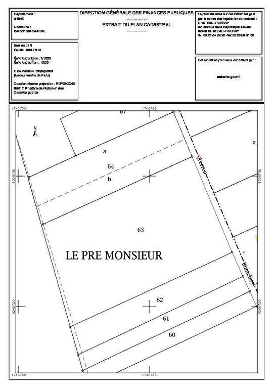 Terrain à vendre 0 4385m2 à Barzy-sur-Marne vignette-3