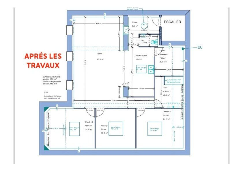 Appartement à vendre 4 120m2 à Tournon-sur-Rhône plan-1