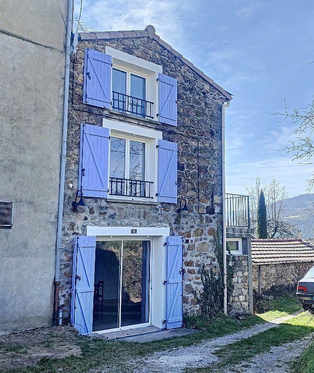 Maison à vendre 3 50m2 à Saint-Félicien vignette-1