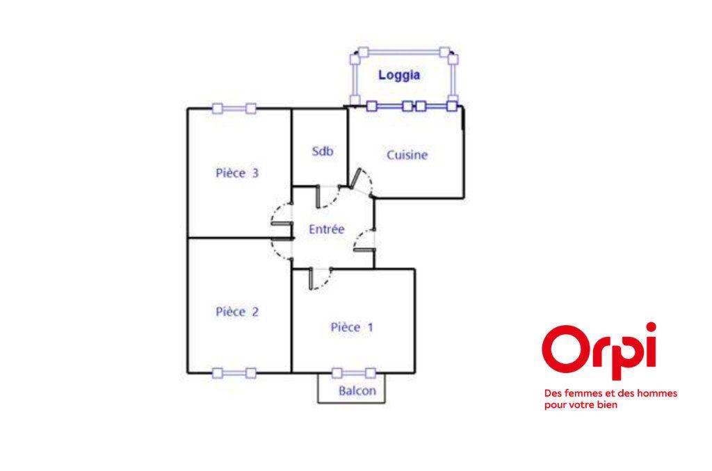 Appartement à vendre 3 72m2 à Bischheim vignette-11