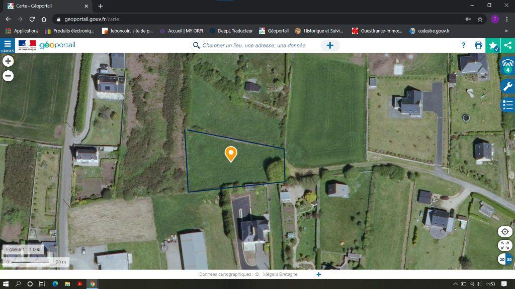 Terrain à vendre 0 1300m2 à Plouhinec vignette-1