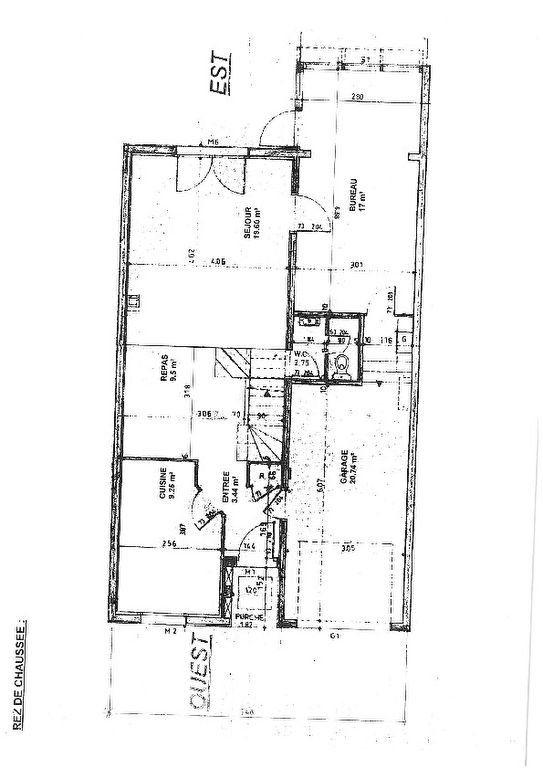 Maison à vendre 6 125m2 à Montigny-le-Bretonneux plan-1