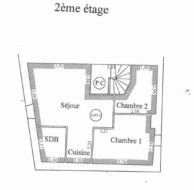 Appartement à vendre 2 39.6m2 à Montfavet - Avignon vignette-7