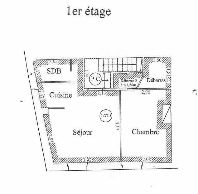 Appartement à vendre 2 37.9m2 à Montfavet - Avignon vignette-5