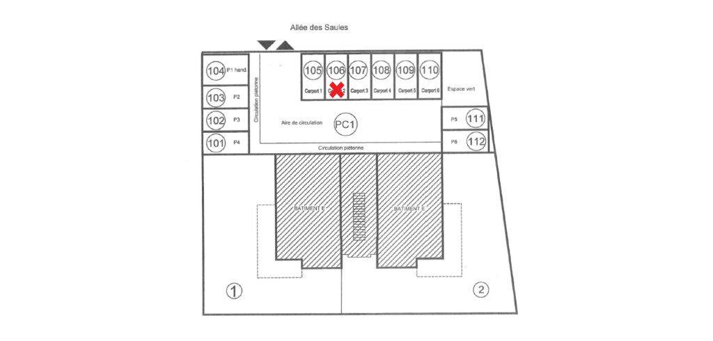 Stationnement à vendre 0 12.5m2 à Obernai vignette-2
