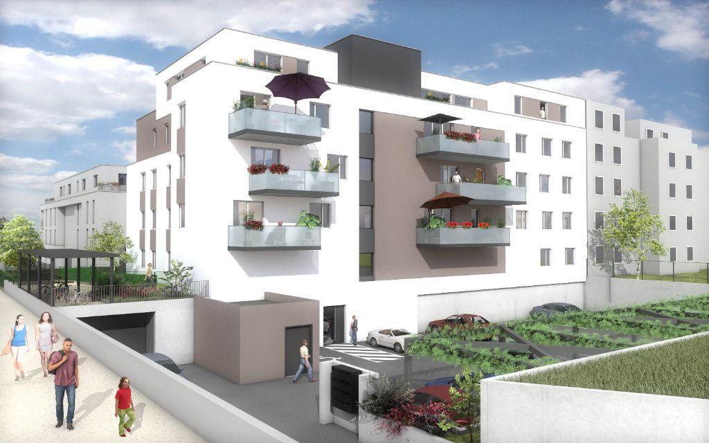 Appartement à vendre 2 54.21m2 à Pfastatt vignette-1