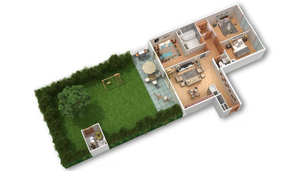 Appartement à vendre 2 54.21m2 à Pfastatt vignette-2