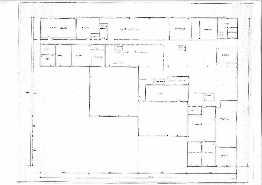 Local d'activité à vendre 0 2768m2 à Saint-Amand-Montrond plan-1