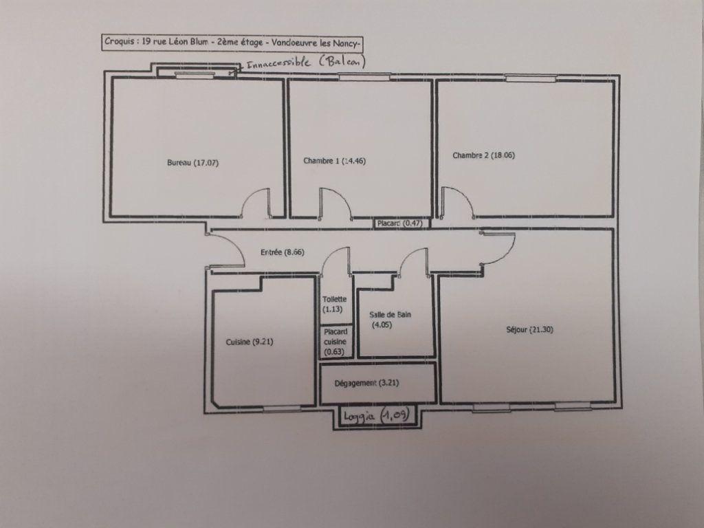 Appartement à louer 4 97.14m2 à Vandoeuvre-lès-Nancy vignette-9