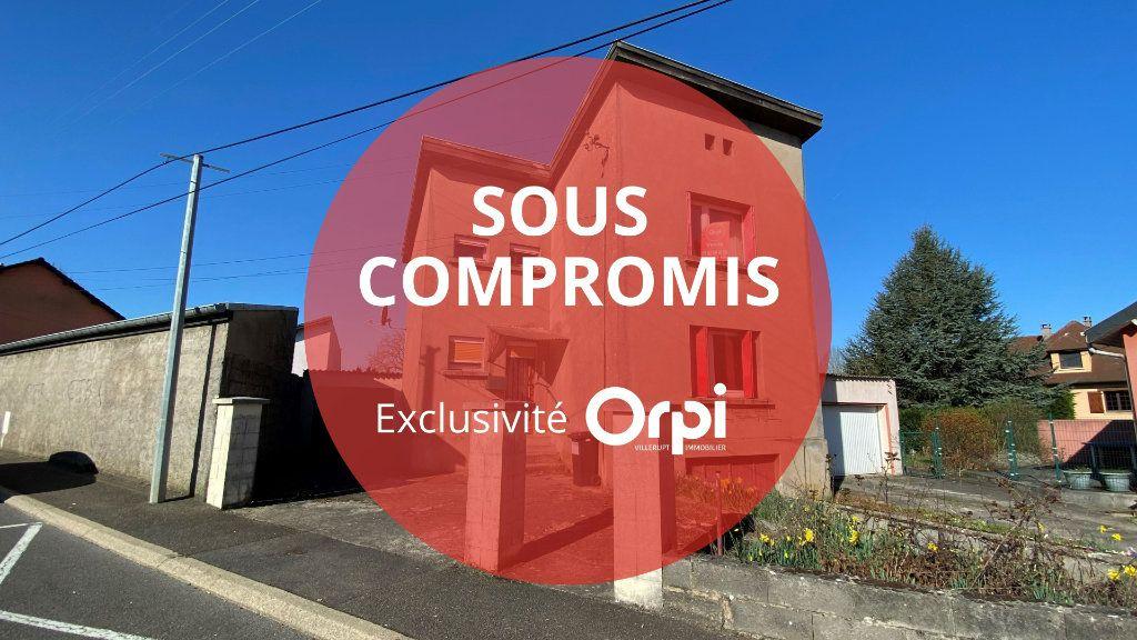Maison à vendre 4 75m2 à Villerupt vignette-1