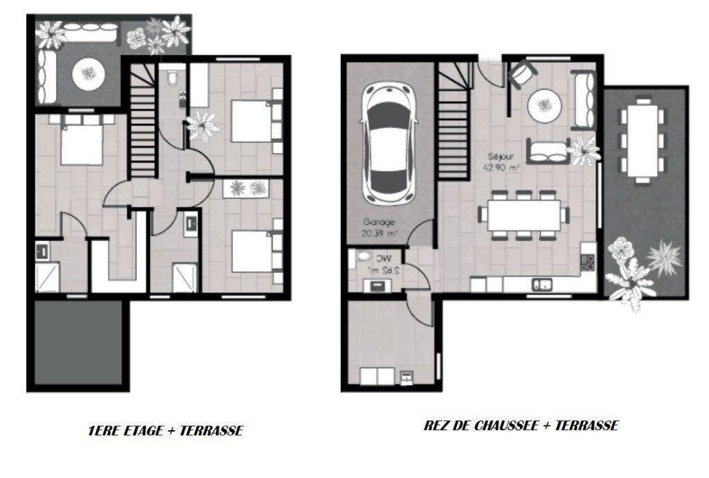 Maison à vendre 5 110m2 à Haucourt-Moulaine vignette-7