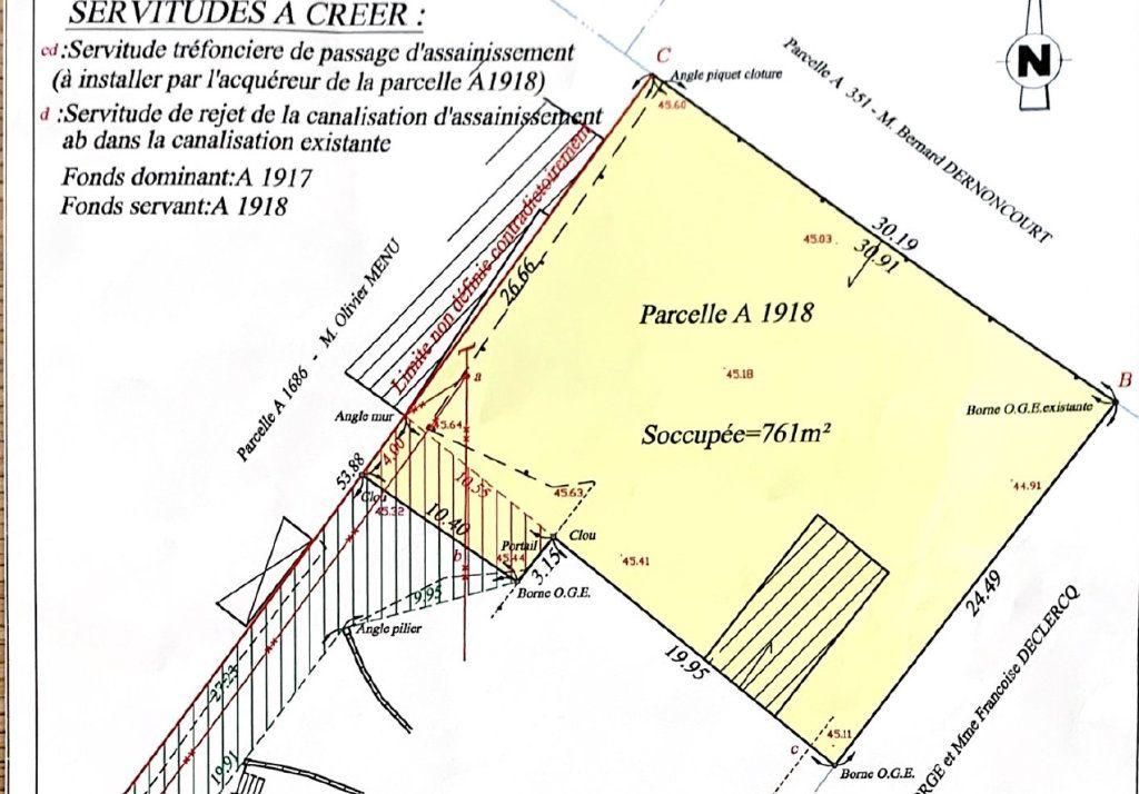 Terrain à vendre 0 761m2 à Mons-en-Pévèle vignette-3