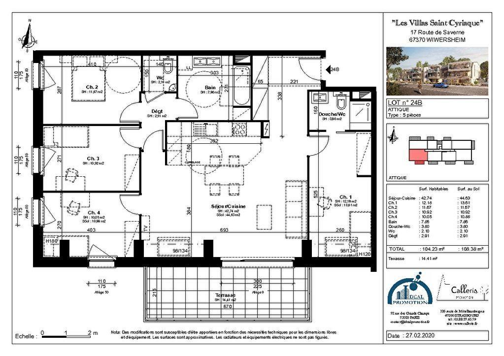 Appartement à vendre 5 104.23m2 à Wiwersheim vignette-2
