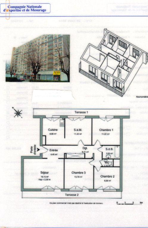 Appartement à vendre 5 92m2 à Strasbourg vignette-3
