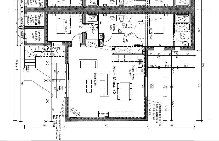 Appartement à vendre 3 90m2 à Damgan vignette-2