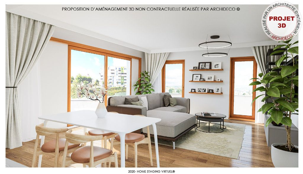 Appartement à vendre 3 60m2 à Rodez vignette-1