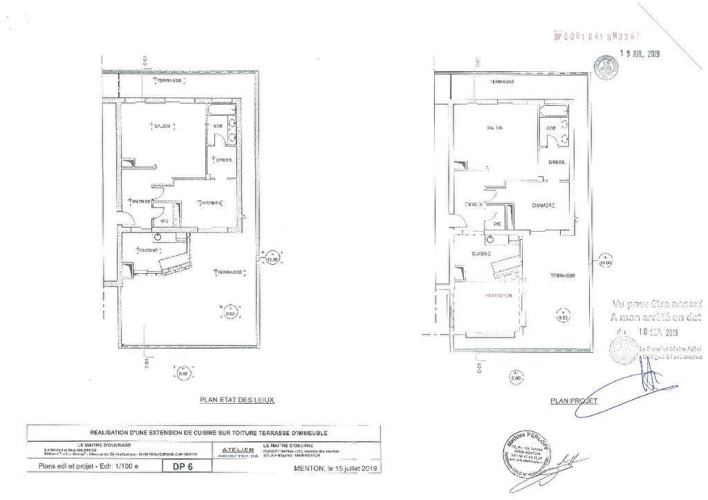 Appartement à vendre 2 48.18m2 à Roquebrune-Cap-Martin plan-1