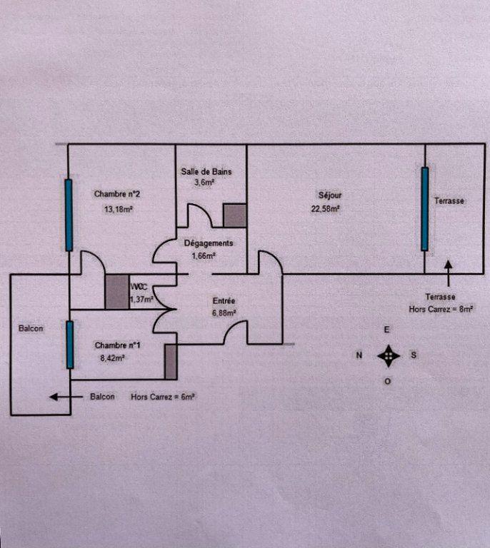 Appartement à vendre 3 57.69m2 à Menton vignette-13