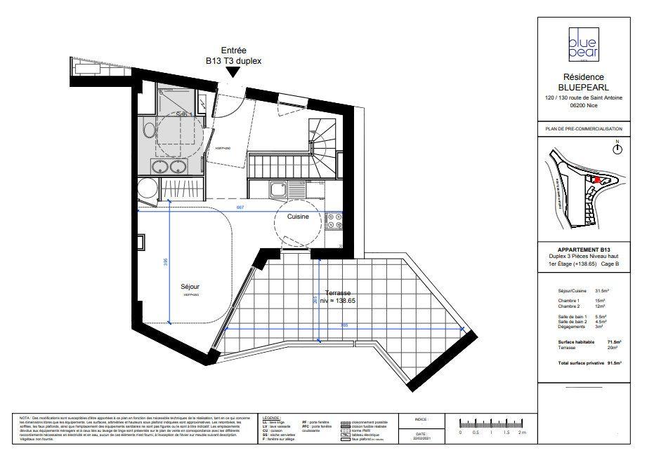 Appartement à vendre 3 71.5m2 à Nice vignette-5