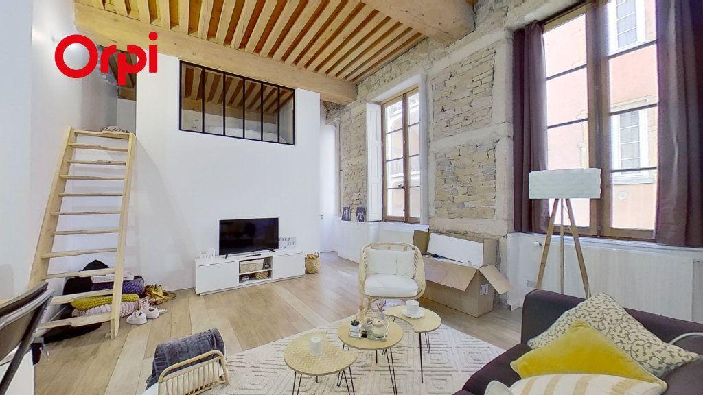 Appartement à louer 2 36m2 à Lyon 1 vignette-1