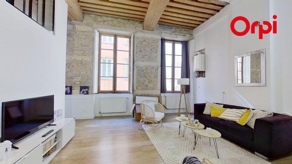 Appartement à louer 2 36m2 à Lyon 1 vignette-2