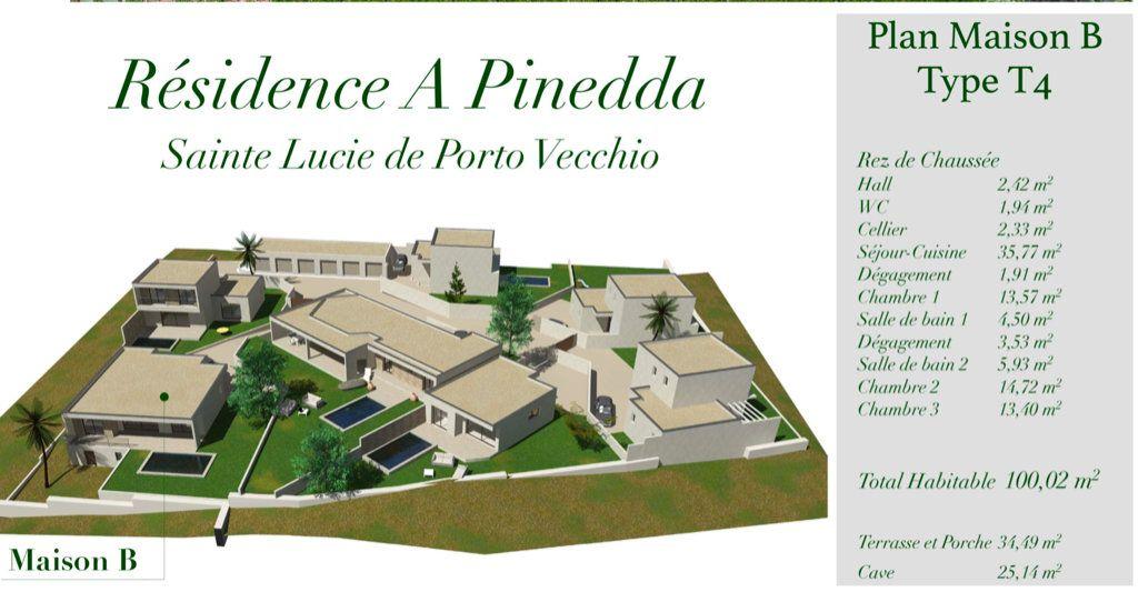 Maison à vendre 4 100.02m2 à Porto-Vecchio vignette-4