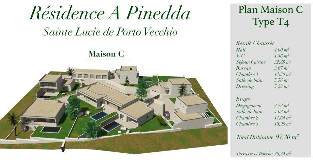 Maison à vendre 4 97.3m2 à Porto-Vecchio vignette-4