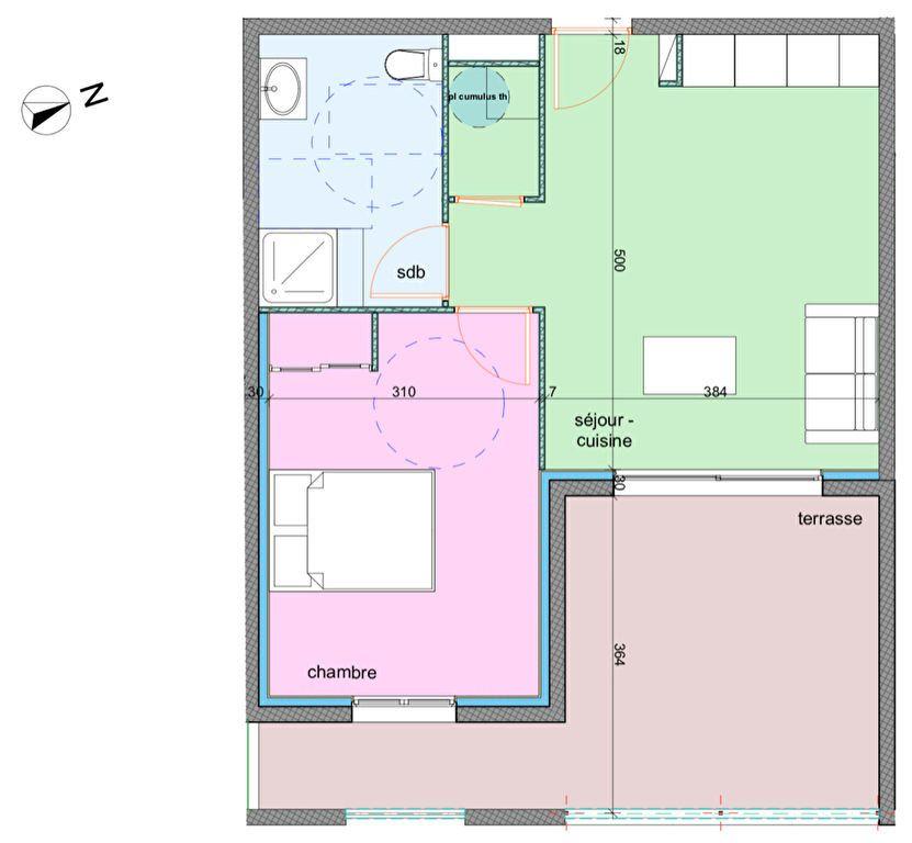 Appartement à vendre 2 42.3m2 à Porto-Vecchio vignette-2
