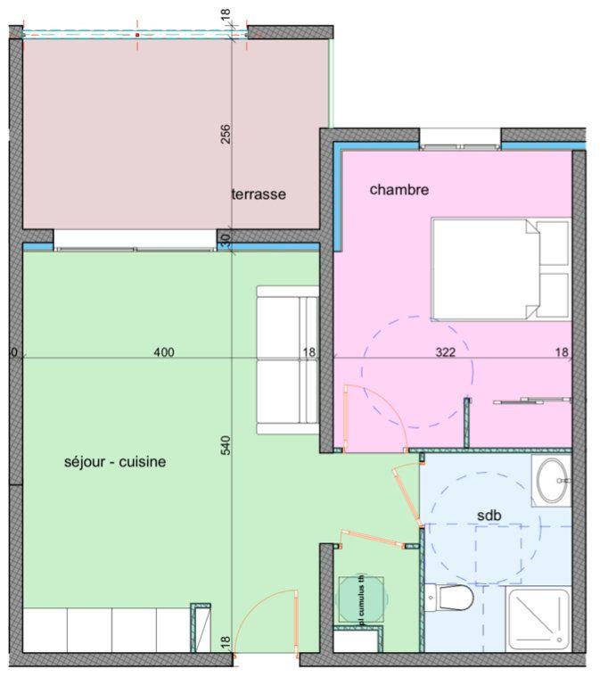 Appartement à vendre 2 42.5m2 à Porto-Vecchio vignette-2