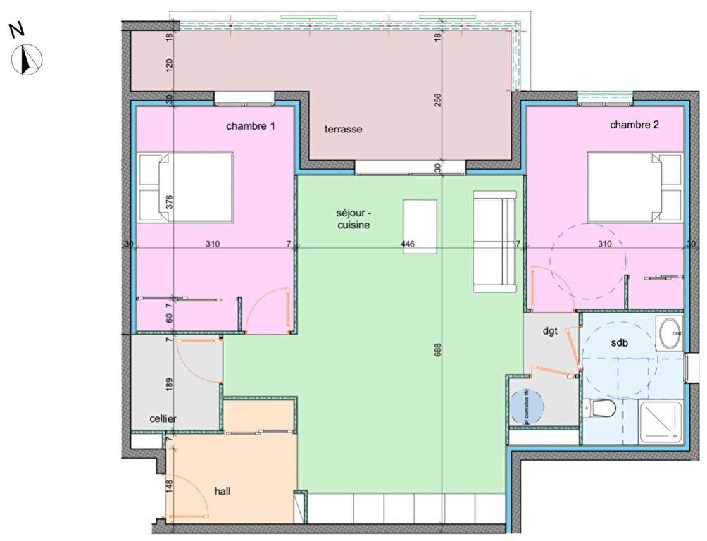 Appartement à vendre 3 74.5m2 à Porto-Vecchio vignette-3