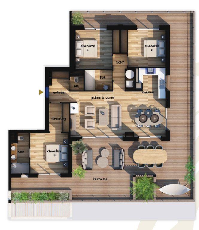 Appartement à vendre 4 96.95m2 à Lecci vignette-1