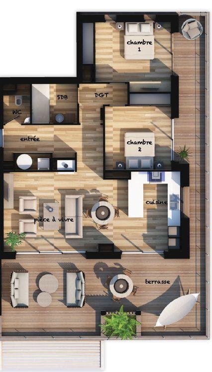 Appartement à vendre 3 72.98m2 à Lecci vignette-2