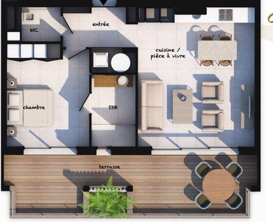 Appartement à vendre 2 55.12m2 à Lecci vignette-1
