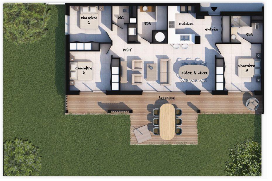 Appartement à vendre 4 99.31m2 à Lecci vignette-1