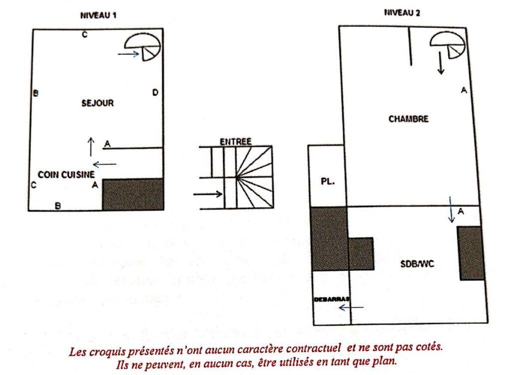 Appartement à louer 2 29m2 à Sèvres vignette-1