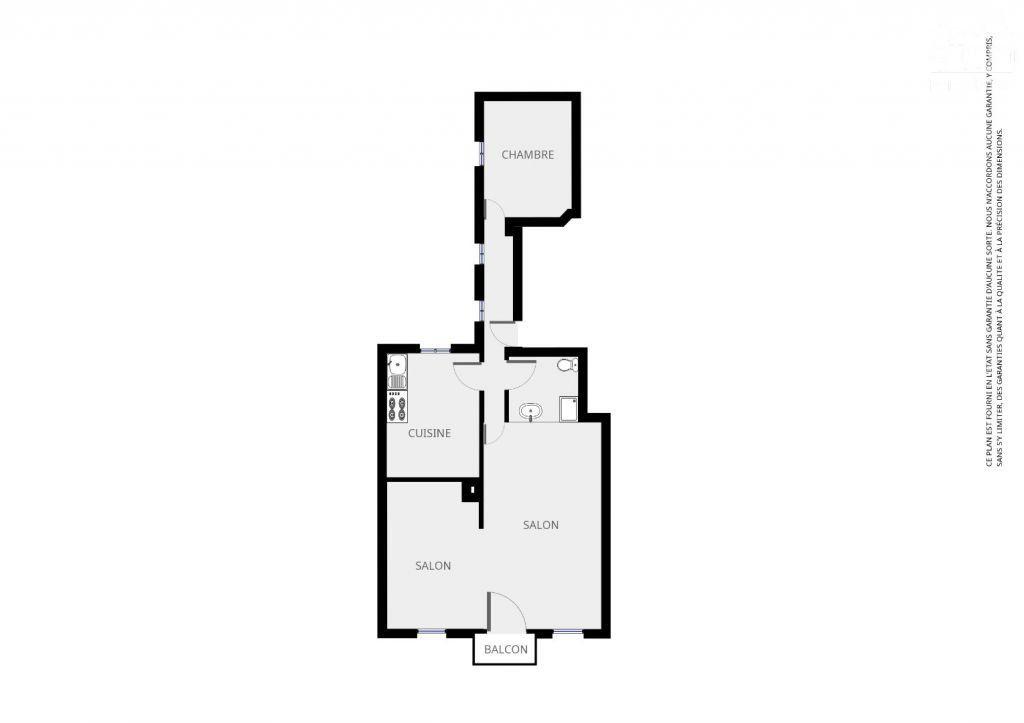 Appartement à louer 2 55.2m2 à Le Creusot vignette-6