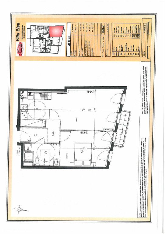 Appartement à louer 2 44.73m2 à Noisy-le-Grand vignette-5