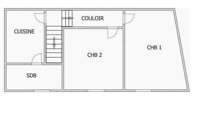 Maison à vendre 5 155m2 à Saint-Junien plan-2
