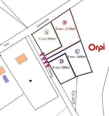 Terrain à vendre 0 1150m2 à Saint-Junien vignette-1