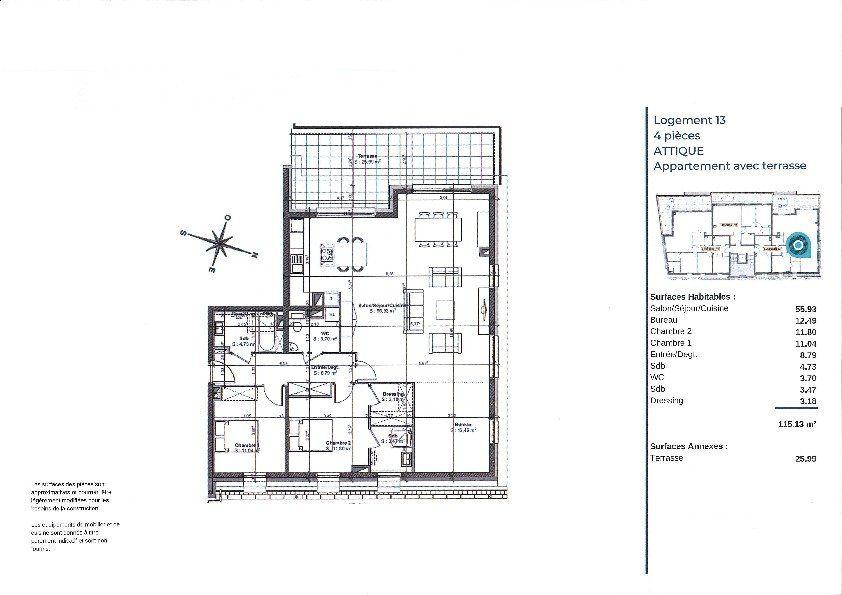 Appartement à vendre 4 115.13m2 à La Walck vignette-3