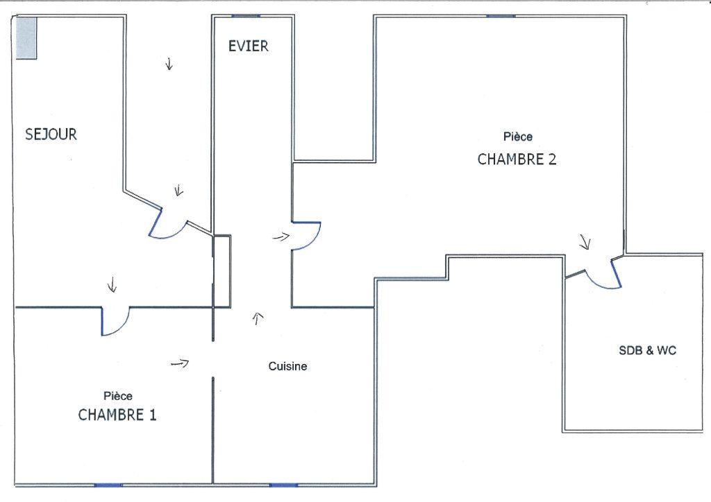 Appartement à louer 3 42.6m2 à Strasbourg vignette-10