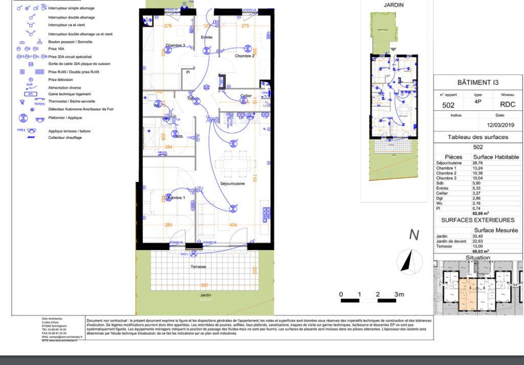 Appartement à louer 4 82.66m2 à Mundolsheim vignette-1