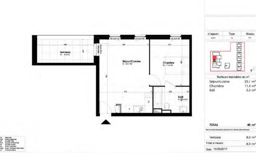 Appartement à louer 2 40m2 à Brumath vignette-1