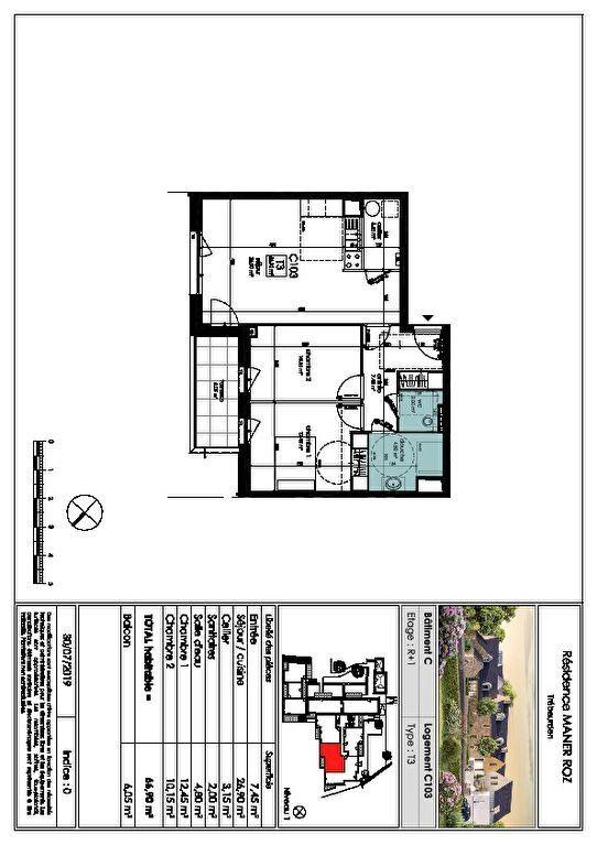 Appartement à vendre 3 66.9m2 à Trébeurden vignette-6