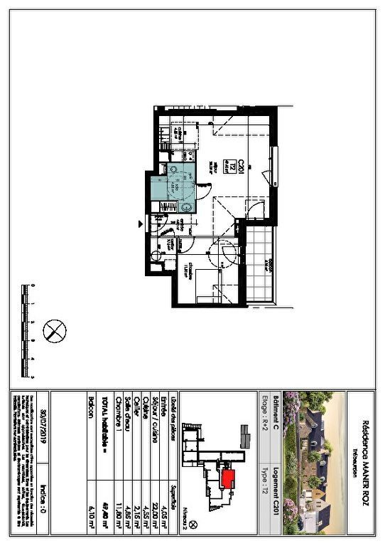 Appartement à vendre 2 49.4m2 à Trébeurden vignette-4