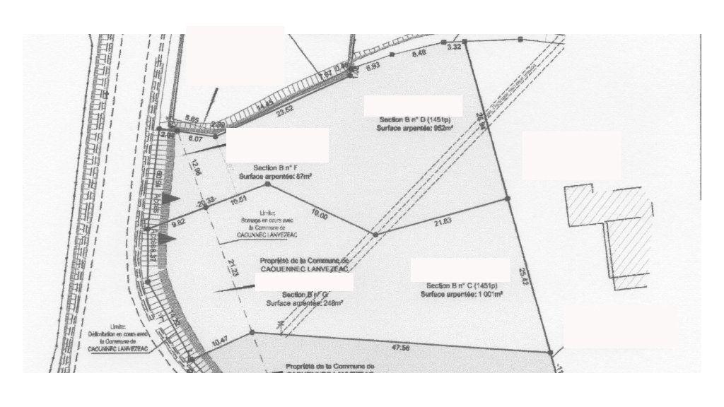 Terrain à vendre 0 1039m2 à Caouënnec-Lanvézéac vignette-3