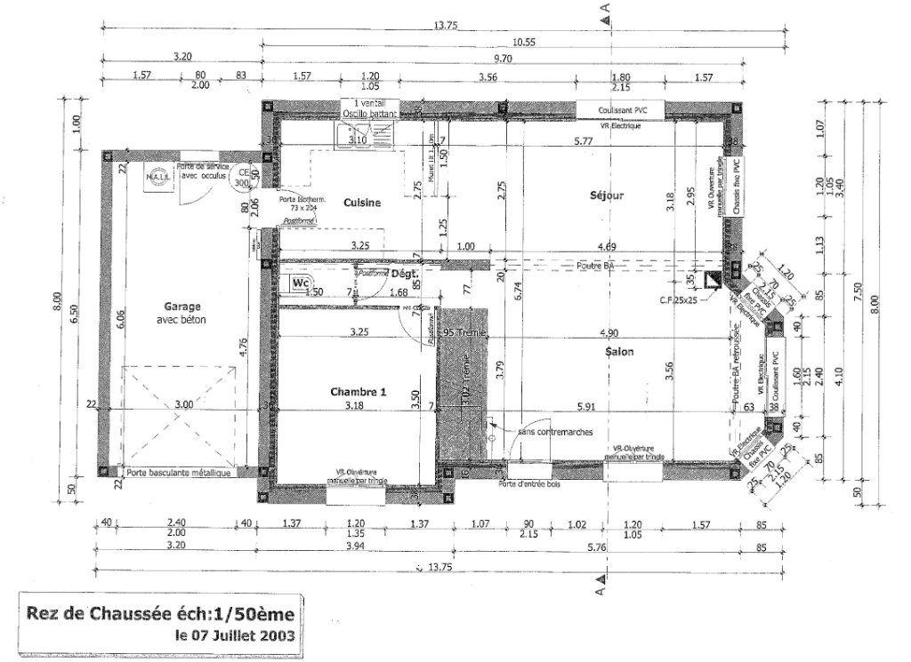 Maison à vendre 6 100.3m2 à Pléguien plan-1