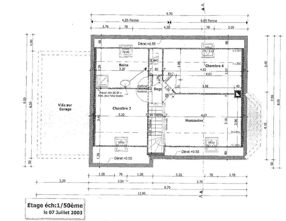 Maison à vendre 6 100.3m2 à Pléguien plan-2