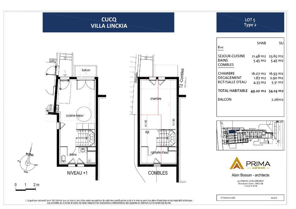 Maison à vendre 2 49.35m2 à Cucq vignette-5