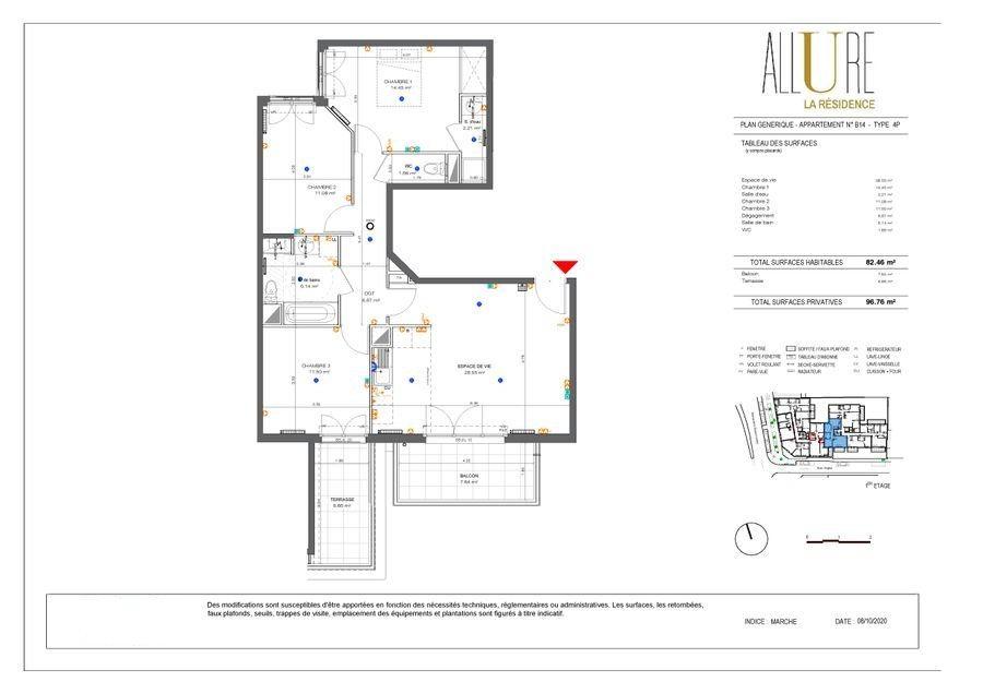 Appartement à vendre 4 82.46m2 à Antony vignette-1